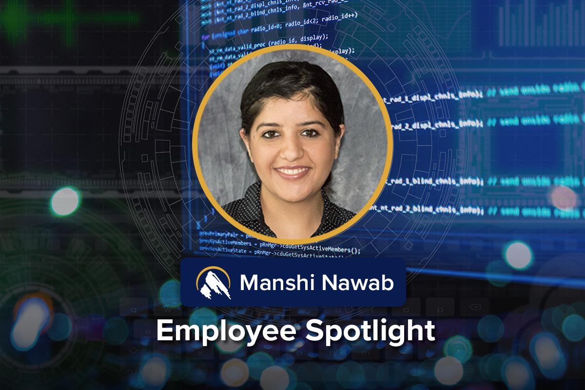 Employee Spotlight on Manshi Nawab