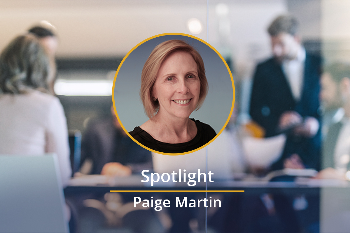 Spotlight on: Paige Martin