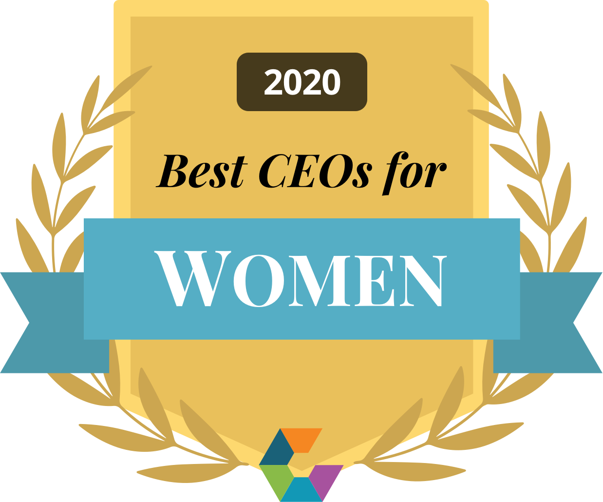 Comparably Best CEOs for Women 2020
