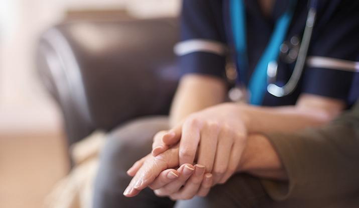 Verify home health caregiver licenses